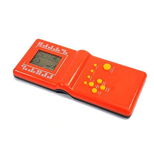 Newin star 1pc Tetris Brick Spiel Handspiel-Konsole Handspiel-Konsole Farbbildschirm Retro Spielkonsole Tragbare Videospielkonsole Arcade-System Geburtstags-Geschenk für Kinder