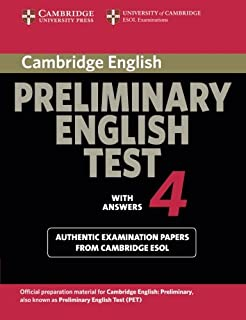 Cambridge Preliminary English Test 4 (PET Practice Tests)