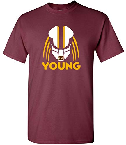 Maroon Chase Football Team Predator T-Shirt, Adult and Youth Sizes