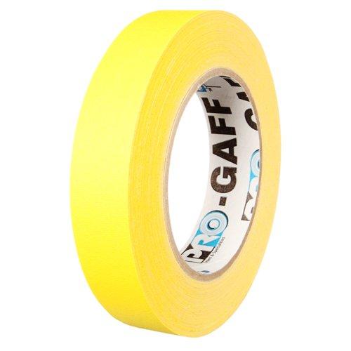 ProGaff Gaffer Tape 24mm x 22,86m (Neon Gelb)