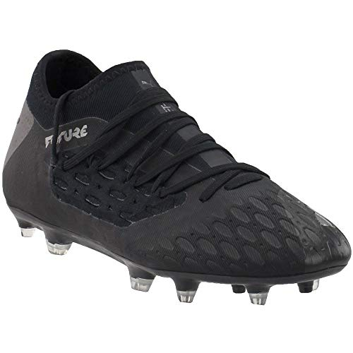 PUMA Kids Boys Future 5.3 Netfit FGAG Soccer Cleats - Black...