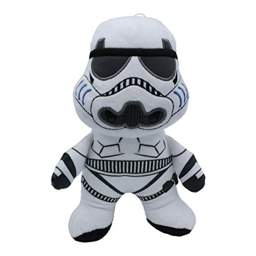 Star Wars Plush Storm Trooper Figure Dog Toy   Soft Squeaky Dog Toy