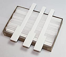 Piano Keytops - Piano Key Replacement - White Gloss Complete Set