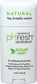 pHresh - 100% Natural Deodorant Stick Sugar Mint - 2.25 oz. by pHresh