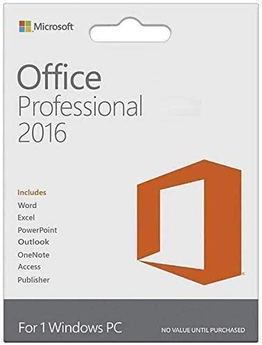 Office Professional 2016 1 PC Lifetime Version product image