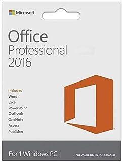 Office Professional 2016 | 1 PC Download (Lifetime Version)