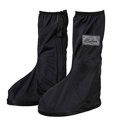 HOGAR AMO 1 Paar Unisex Regen Überschuhe Wasserdichte & Rutschfester Schuhüberzieher Wiederverwendbar Galoschen für Outdoor Gartenarbeit Radfahren