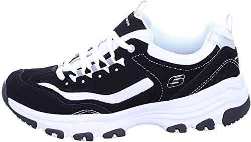 Skechers 88888250/BKW I-Conik Damen Sneaker schwarz/weiß, Größe:39, Farbe:Schwarz