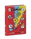 Comix Scottecs by Sio Diario 2019/2020 datato 16 mesi, formato Medium, rosso