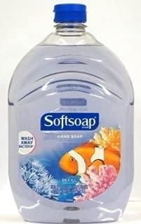 Softsoap Liquid Hand Soap, Aquarium Series, 64-Ounce Refill Bottle