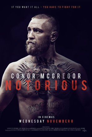 Import Posters Conor McGregor: Notorious – Movie Wall Poster Print - 30CM X 43CM
