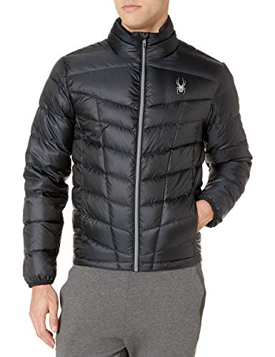 Spyder Pelmo Down Jacket, Black, Large