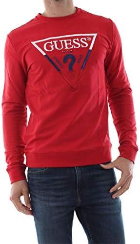 Guess Derren Cn Fleece suéter para Hombre