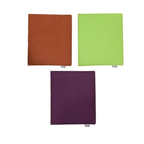 Helio Ferretti beschermhoes voor iPad uit pluche, verschillende kleuren