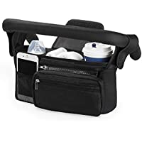 Universal Stroller Organizer with Insulated Cup Holder by Momcozy