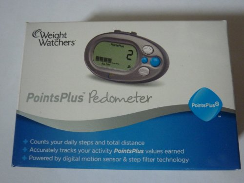 Weight Watchers Points Plus New 2011 Pedometer with Motion Sensor NEW