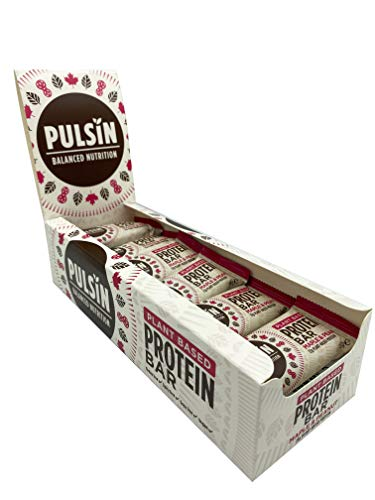 Pulsin' Protein Snack - Maple & Peanut 18 x 50g bars | Gluten Free | Vegan | Dairy Free