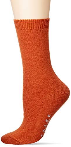 FALKE Damen Socken, Cosy Wool W SO-47548, orange (coppercoin 8937), 35-38