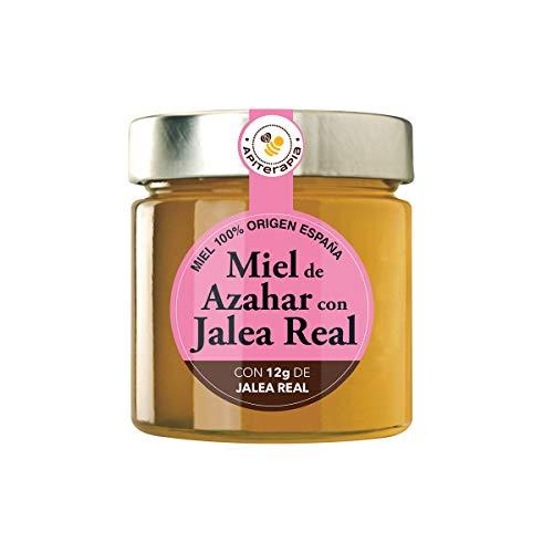 Apiterapia - Miel de Azahar con Jalea Real - Miel Origen España - 300 g