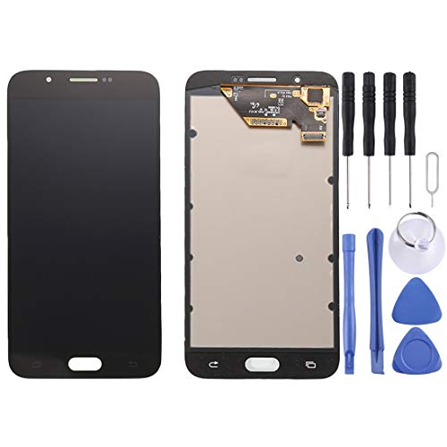 CAPOOK -LCD Display + Touch Panel for Galaxy A8 / A8000(Black) DIY (Color : White)