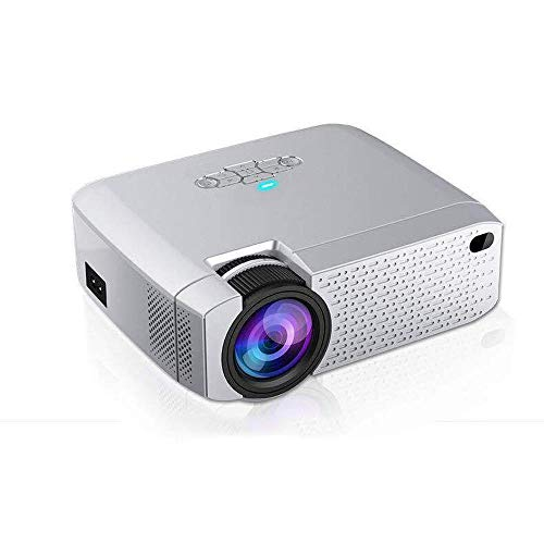 AUN LED Mini Projector D40W,Video Beamer for Home Cinema.1600 Lumens, Support HD, Wireless Sync Display For iPhone/Android Phone|LCD Projectors, D40W