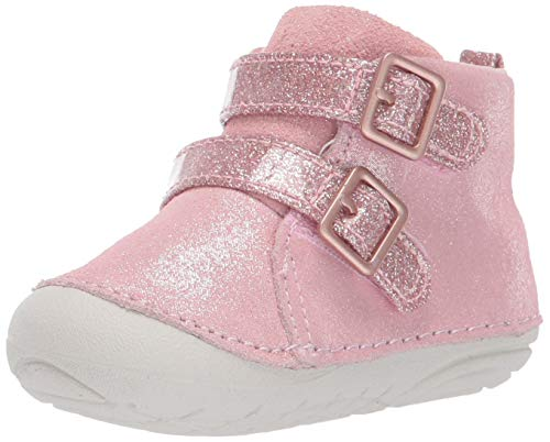 Stride Rite Girls' SM Vera Ankle Boot, Rose Gold, 5 M US Toddler