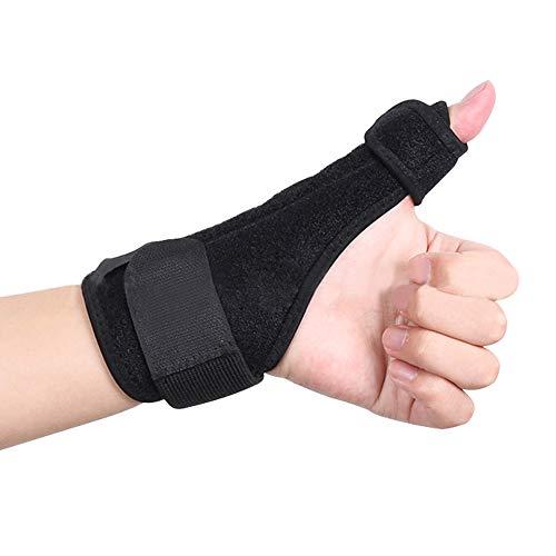 SITAKE 2 Stück Daumenbandage für Links & Rechts - Handgelenkbandage - Handbandage - Daumenschutz beim Sport und Sehnenscheidenentzündung(Schwarz)