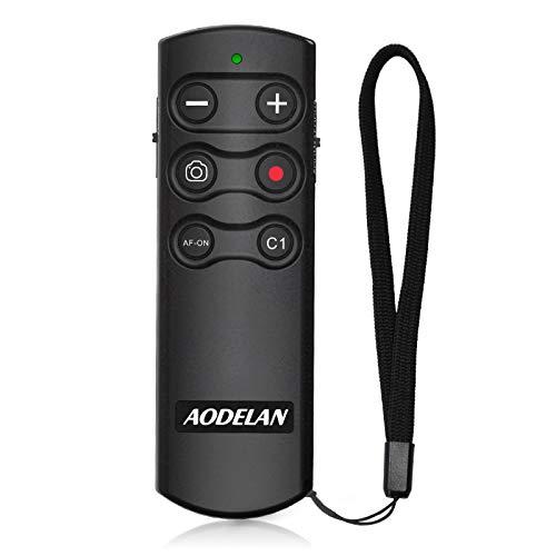 Wireless Shutter Release Camera Remote Control for Sony A7 III, A7R III, A6100, A6400, A6600, RX100 VII, RX0 II, A7R IV, A9, A9 II, ZV-1, A7C