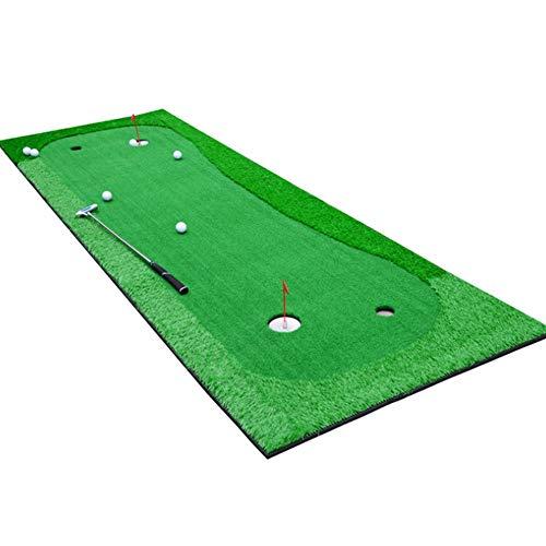 QiHaoHeji Golf Putting Green Putting Greens De Golf Intérieur Portable Entraîneur des Actions À Effet De Serre À L