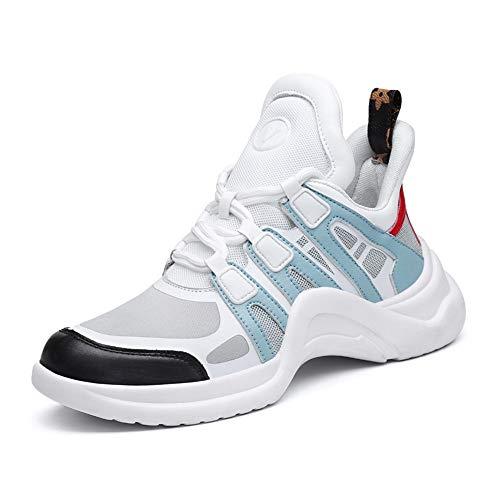 Willsky Chaussures de Sport pour Femmes, Formateurs légers Fitness Occasionnel Course à Pied Sport Marche à Pied Jogging Baskets athlétiques,Blue,40