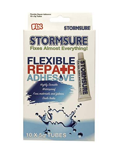 Beste waarde! Stormsure Flexibele Reparatie Lijm 10 x 5g buizen