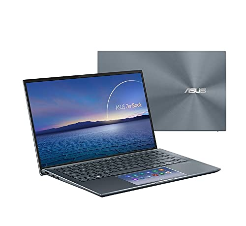 Notebook ASUS ZenBook 14 UX435EA-A5072T CORE I7 1165G7 / 8 GB / 512 GB / Windows 10 Home / Cinza Escuro
