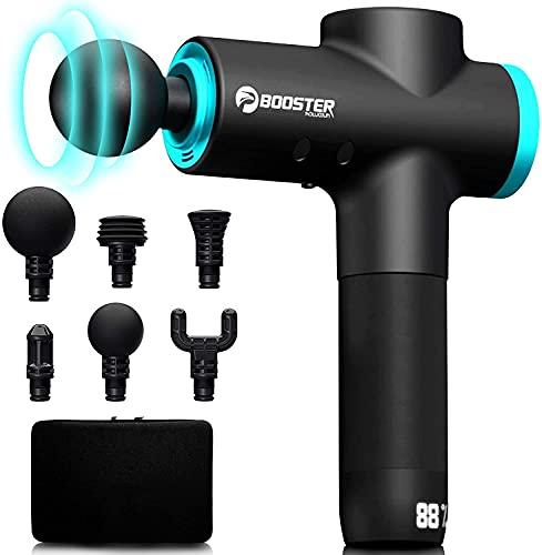 Pistola Massageadora Profissional BOOSTER Booster M2 Massage Gun Preto Fisioterapia