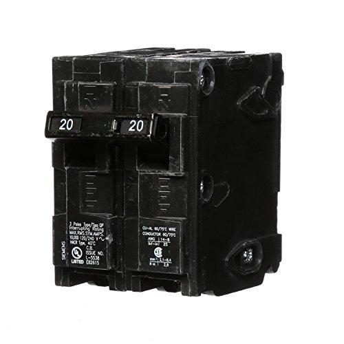 Q220 20-Amp Double Pole Type QP Circuit Breaker