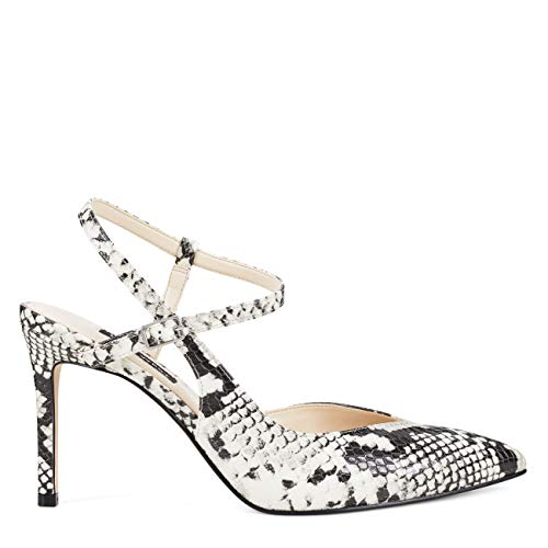 NINE WEST Elisa Taupe Multi Textile 7 M