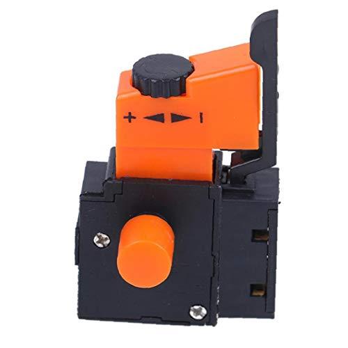 Ohomr Taladro eléctrico gatillo del Interruptor, Interruptor de Control de Velocidad, FA2-4 / 1BEK Mano Taladro de Velocidad Regulador Ajustable para Taladro eléctrico