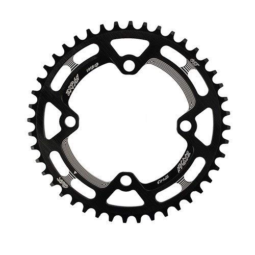 Hojuan Forma 104BCD XT Ronda 30T 32T 34T 36T 38T 40T 42T 44T 46T 48T 50T 52T Ciclismo MTB Plato Chainwheel (Color : 50T Round Black)