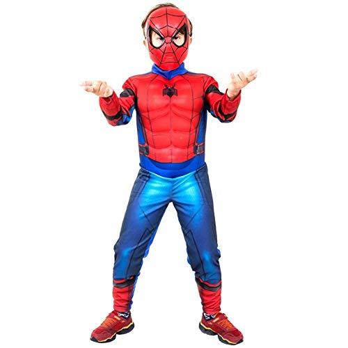 Fantasia Homem Aranha/SpiderMan Infantil Luxo Filme De Volta Ao Lar P 2-4