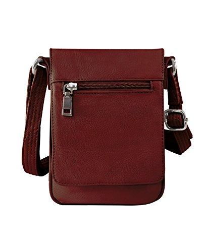 Roma Leathers Compact Concealment Crossbody Bag - Fits KAHR 380, KAHR...