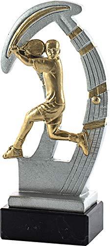 Art-Trophies AT44893 Trofeo Serie Deportes, Adultos Unisex, Plata, 19 cm