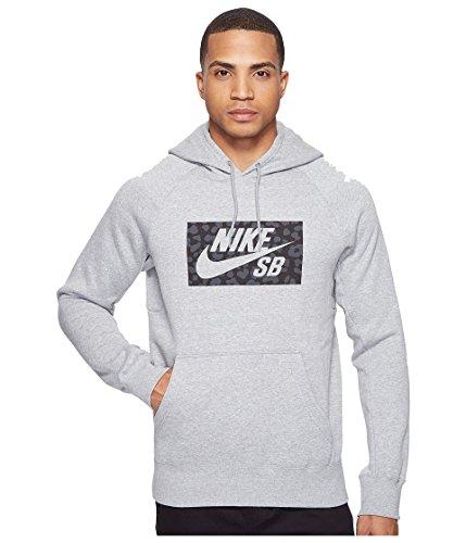 Nike M Nk Sb Icon Hoodie Jagmo Sweatshirt für Herren, Grau (Dk Grey Heather), S