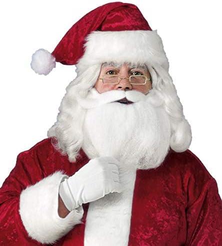 Rubies Mens Value Santa Beard and Wig Set