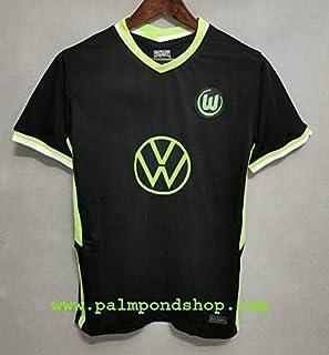 ZA VFL. Wolfsburg Black Soccer Jersey Trikot 2020-2021 Size XL