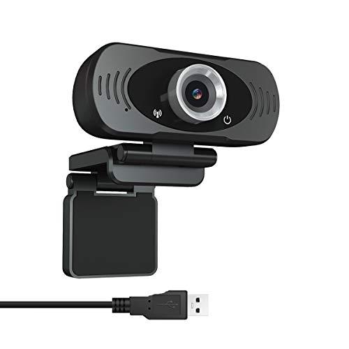 Guo duo Webcam Full HD 1080P Computer Kamera Breitbild Videotelefonie und Aufzeichnung Fester Fokusdesign Webcam mit Mikrofon Streaming Kamera