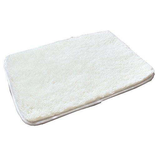 alfombra D Seda Suave y Gruesa Bañeras de baño Sillas de baño Sillón de Ruedas Antideslizante