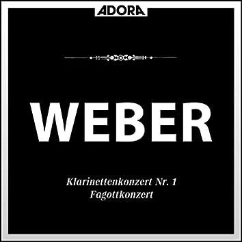 Weber: Klarinettenkonzert No. 1, Op. 73 - Concertino, Op. 26 - Fagottkonzert, Op. 75