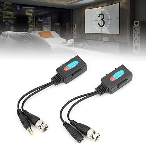 banapoy Balún de vídeo HD, transmisor de par Trenzado, Potente Uso Profesional para cámaras HD Cámaras analógicas de Uso General de definición General