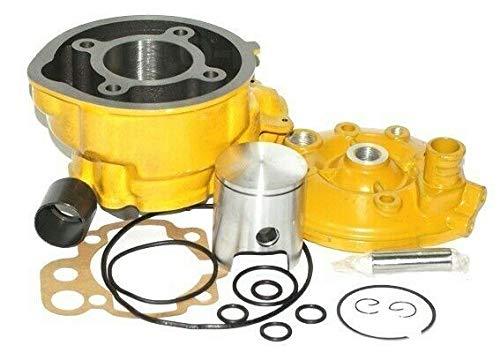 Unbranded. 70 CCM Sport Racing Zylinder Kopf KOMPLETT für MBK X Limit Enduro 50 AM6 GELB