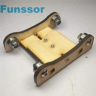 HEASEN Wooden Printrbot Adjustable Spool Coaster 3 D Printer Filament Holder Spool Holder