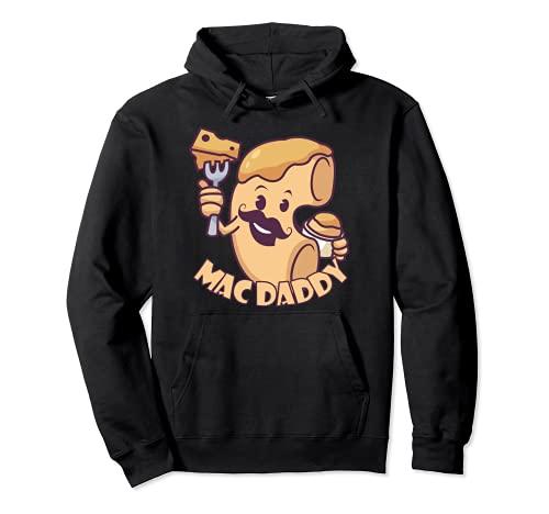 Lustige Mac Daddy Nudeln Mac N Cheese Dad Macaroni Pasta Pullover Hoodie